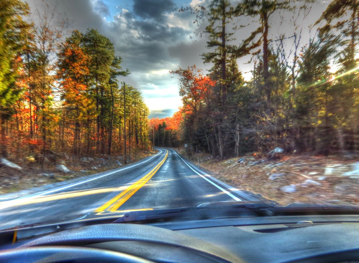 Third's the Charm: The Ultimate Driving Machine and a Belated Search for Pennsylvania Fall Colors