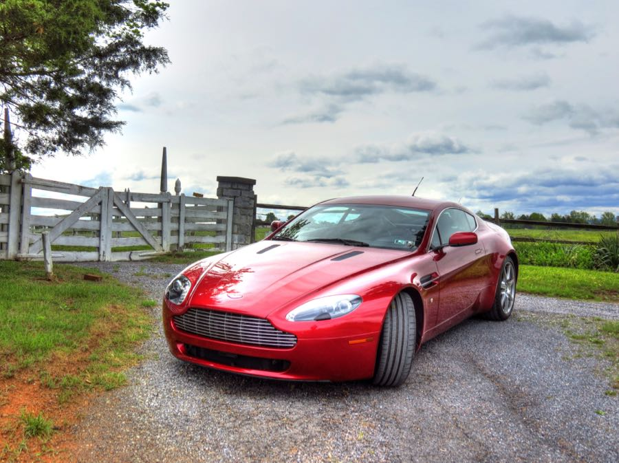 An Aston Martin at the Battle of Cedar Creek