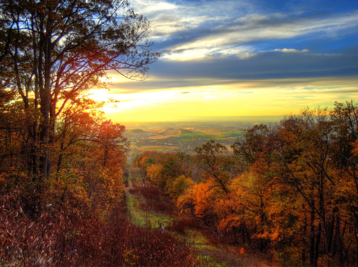 A BMW Tour of Fall Colors (and Haunted Houses)