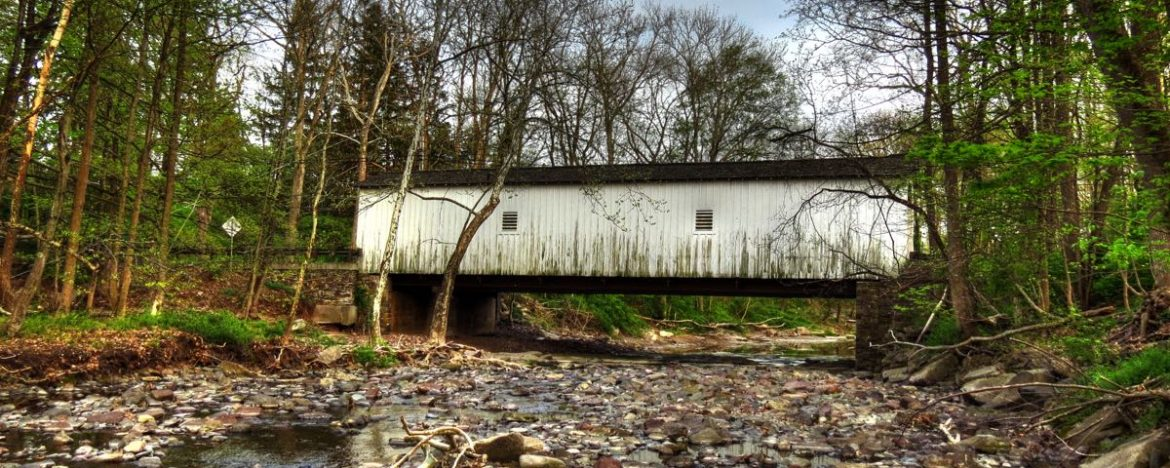 The First of the Roller Coasters, the Last of the Covered Bridges