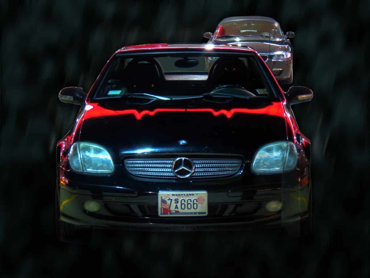 A Z4 Tour of Haunted Houses—and the Devil's Own Mercedes