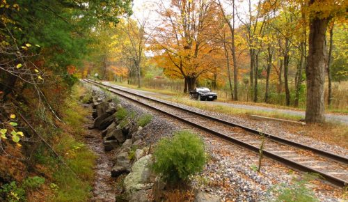 Rickety Bridges, Haunted Houses, and the Occasional Fall Color