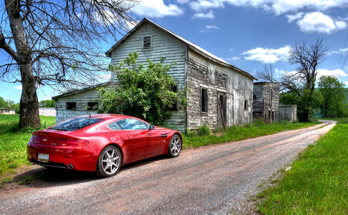 West Virginia: Following the Footsteps of George Washington—in an Aston Martin