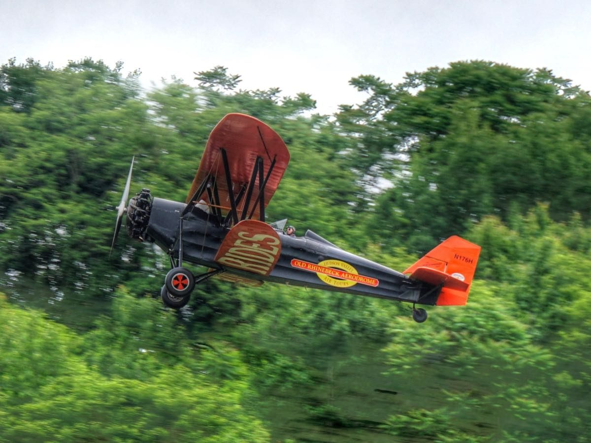 Touring the Catskills, by BMW, by Foot—and by Biplane?